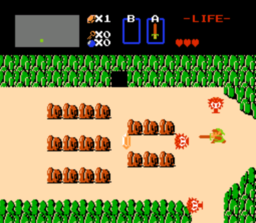 the simple lay out of most of the Zelda screens are burned into my brain.