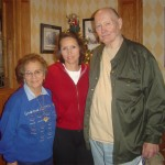 Bobo, my Aunt Sharon and Poppy